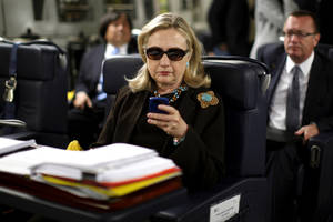 Hillary Clinton used private e-mail for State Department business